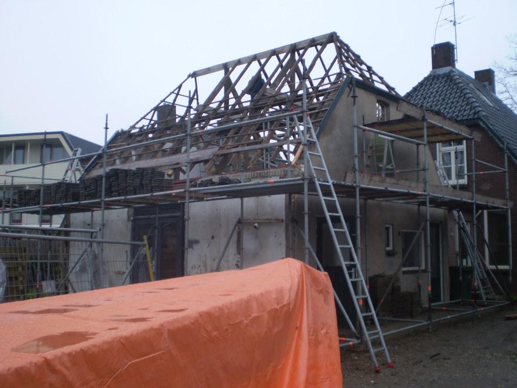 Renovatie van het dak bijgebouw in Zevenaar
